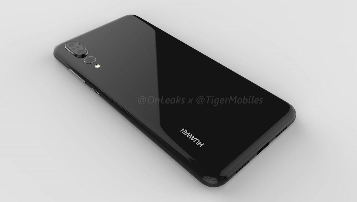 Huawei P20 Plus背面