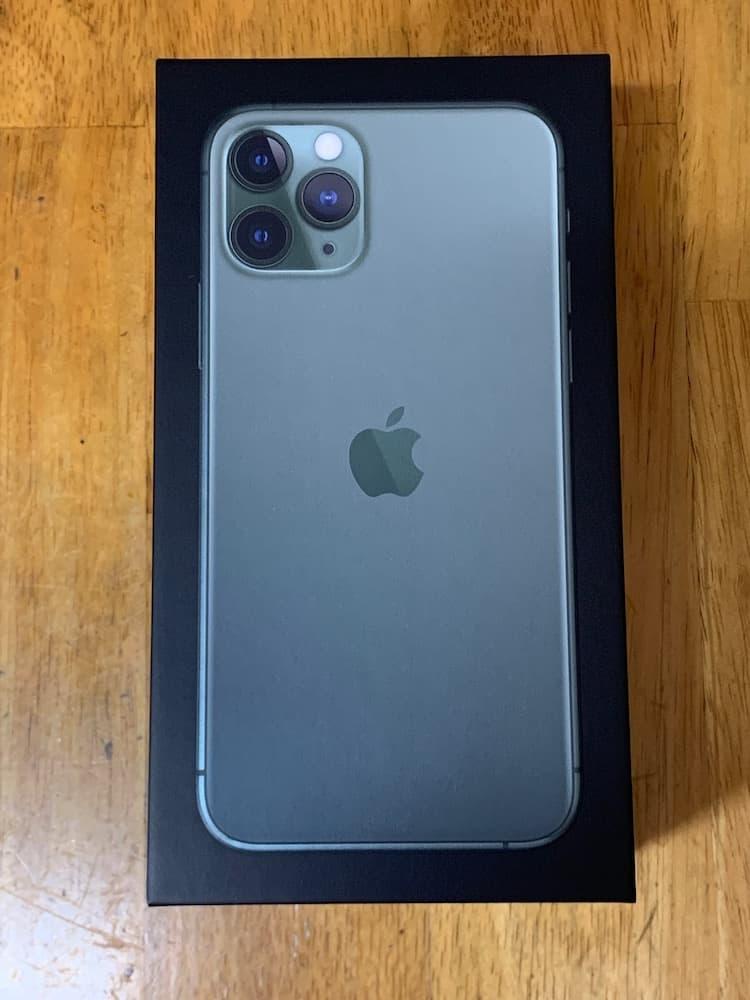 iPhone 11 Pro外箱