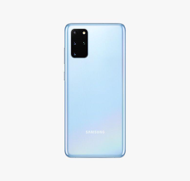 Galaxy S20ブルー