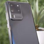 「Galaxy S20 Ultra」の実機写真?