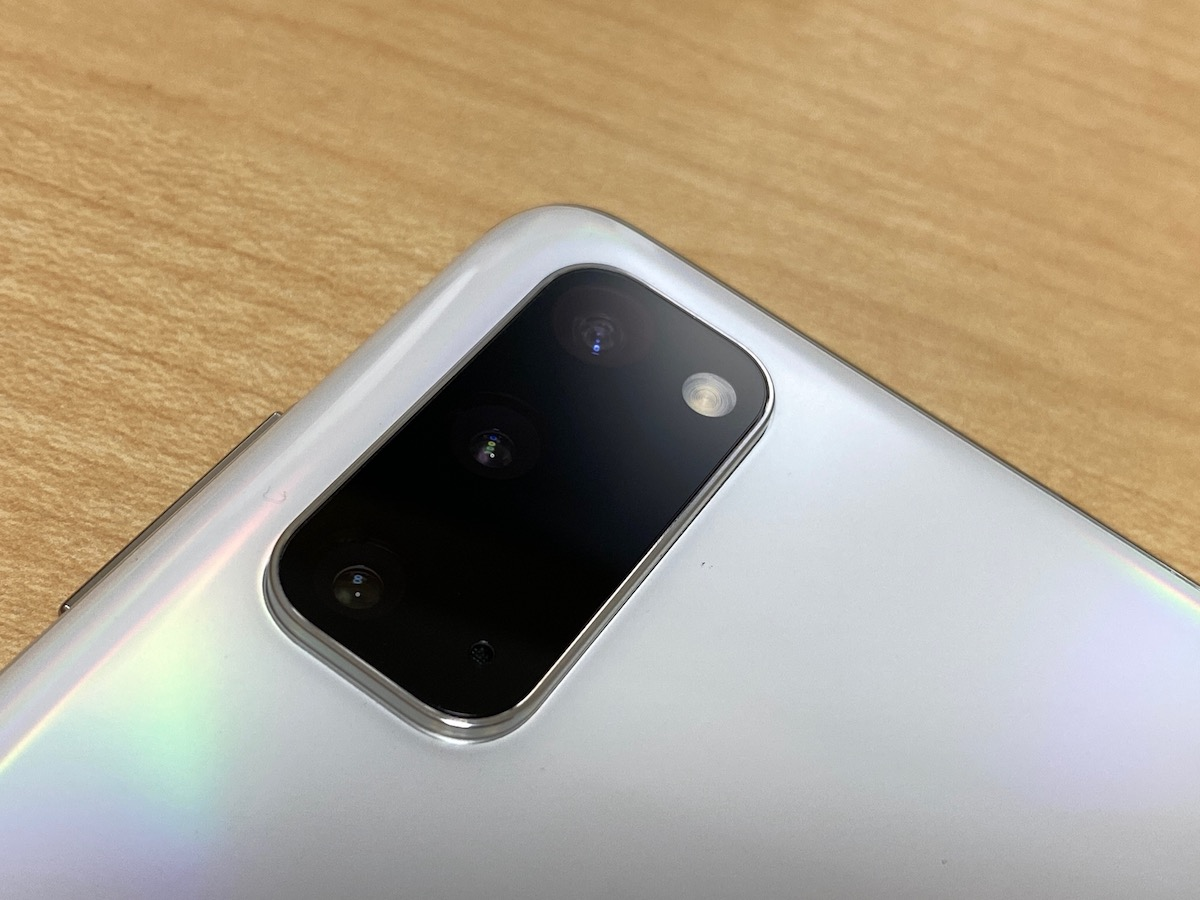 Galaxy S20 5G(SC-51A)のカメラ
