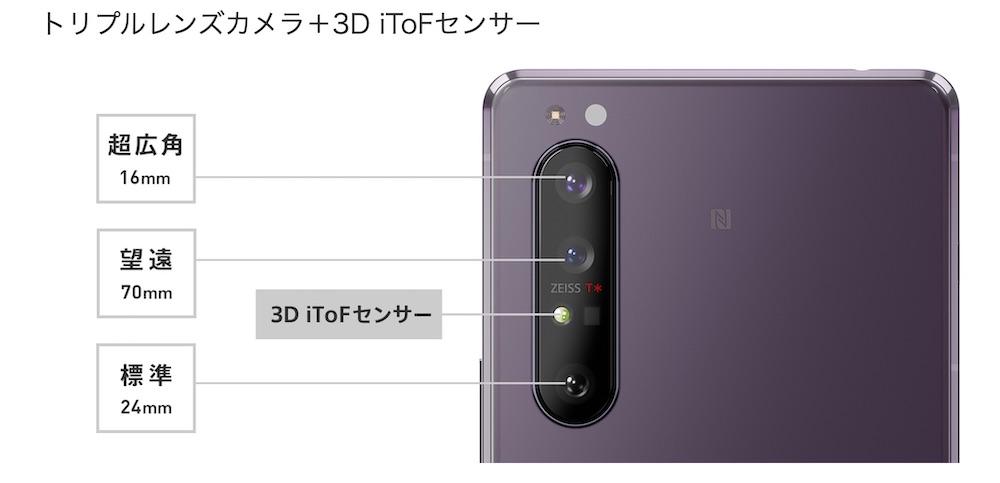 Xperia 1Ⅱ カメラToF
