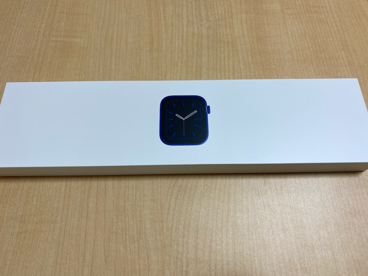 Apple Watchの箱
