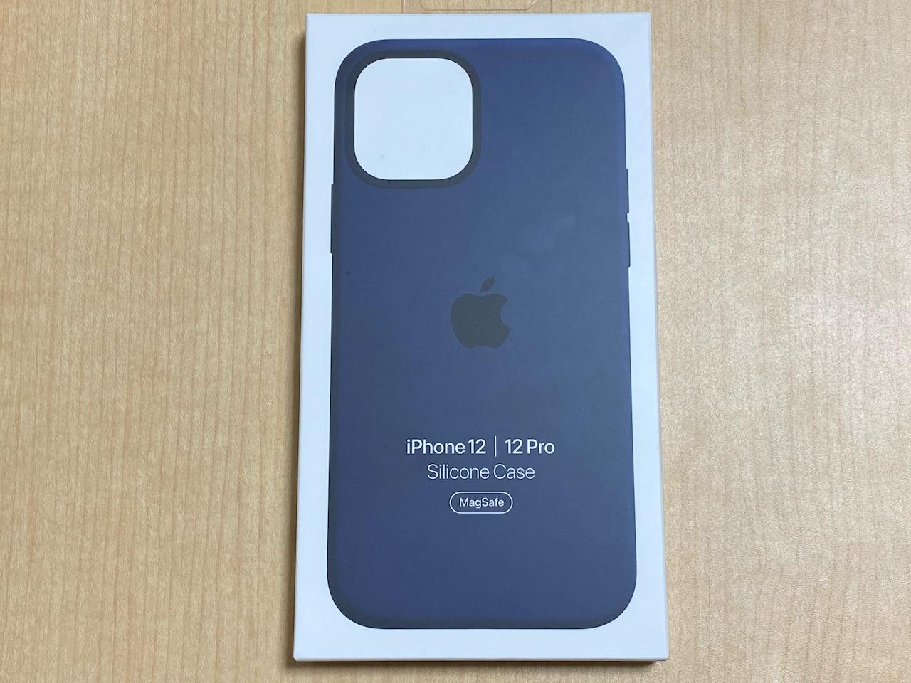 iPhone 12 Apple純正シリコンケース