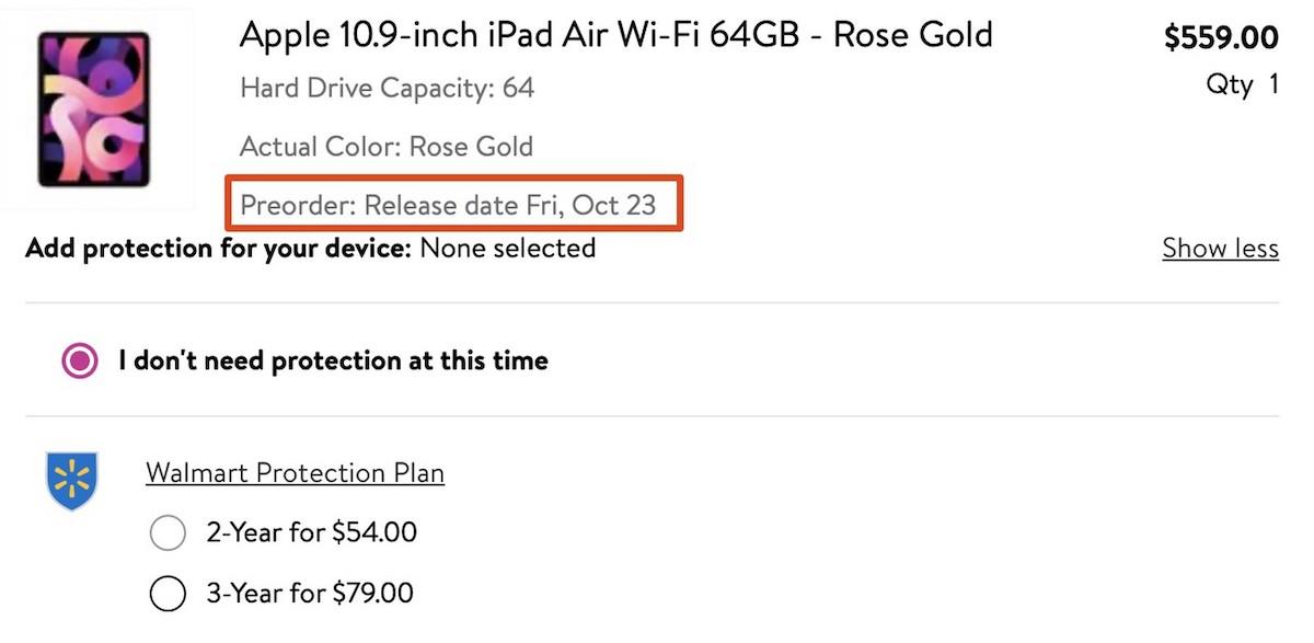 iPad Preorder