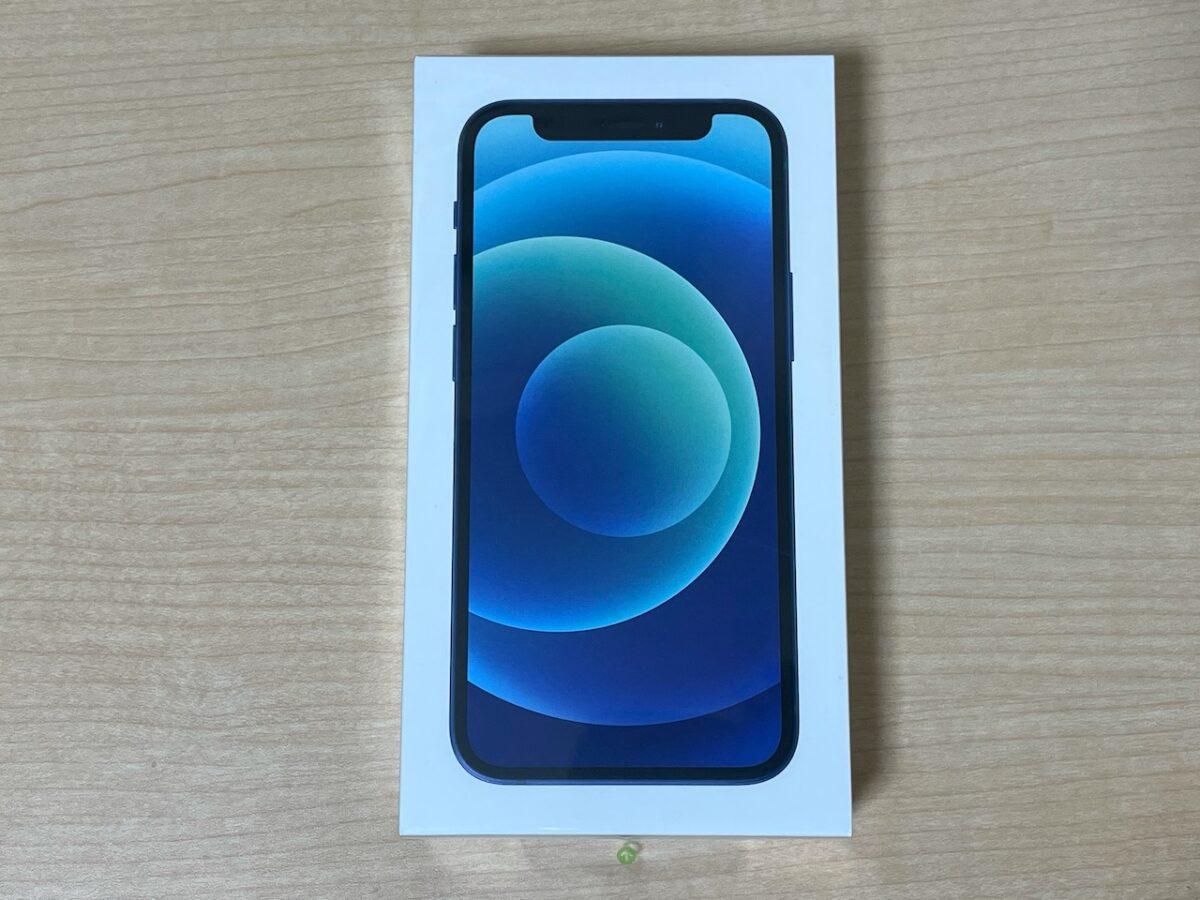 iPhone12 miniの外箱