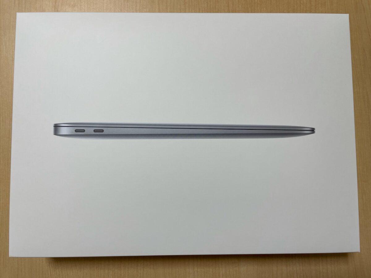 MacBook Air(M1、2020)外箱