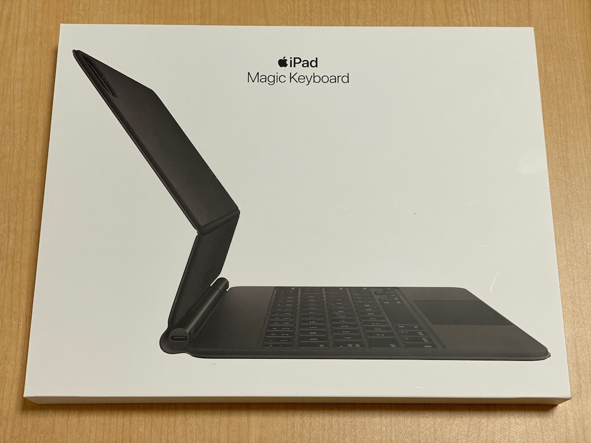 Magic Keyboard。iPad