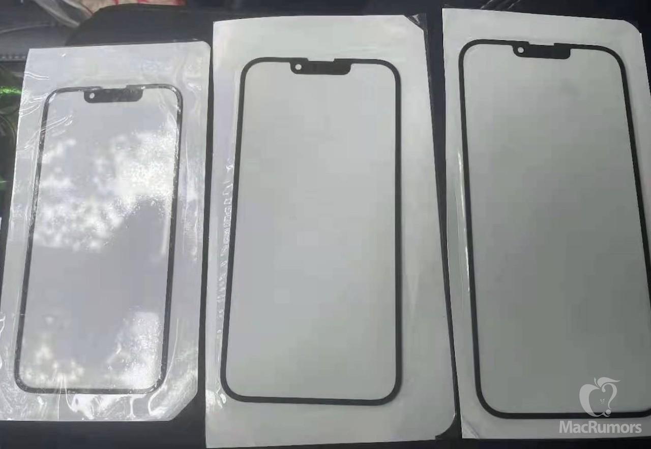 iPhone 13のフロントガラス