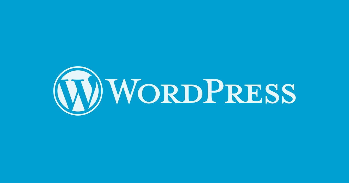 WordPress。ワードプレス