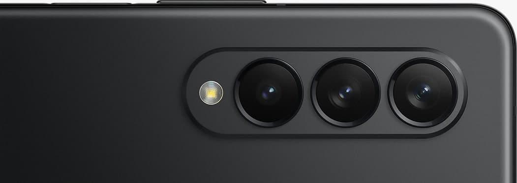 Galaxy Z Fold3 5Gのカメラ