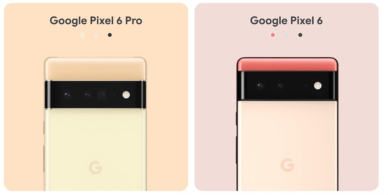Pixel 6、Pixel 6 Pro