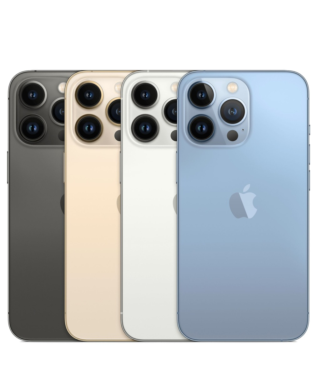 iPhone 13 Pro、カラー