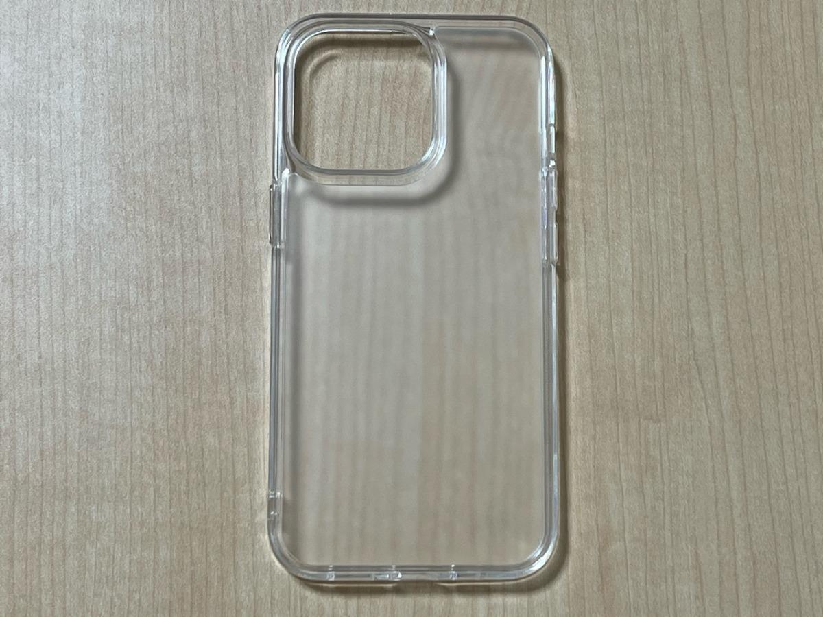 NIMASO iPhone 13 Pro 用 ケース 強化ガラス 半透明 マットタイプ