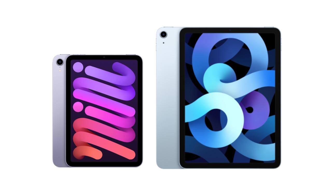 iPad mini6、iPad Air4