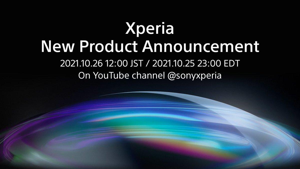 Xperiaイベント。2021年10月26日